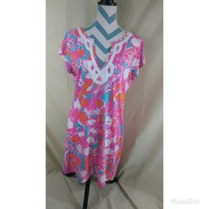 Lilly Pulitzer Size XL Brewster T Shirt Dress